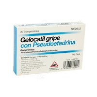 GELOCATIL GRIPE 20 COMP